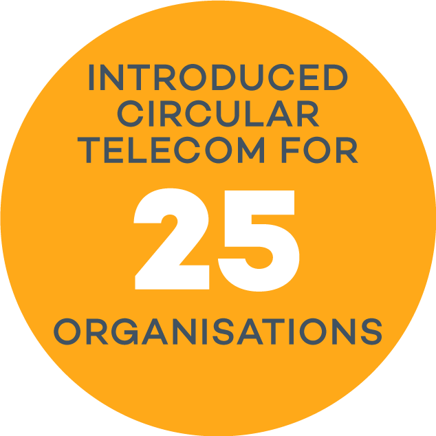 Introduced Circular Telecom for 25 Companies